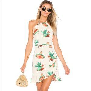 Flynn Skye Monica Mini Dress in Cactus